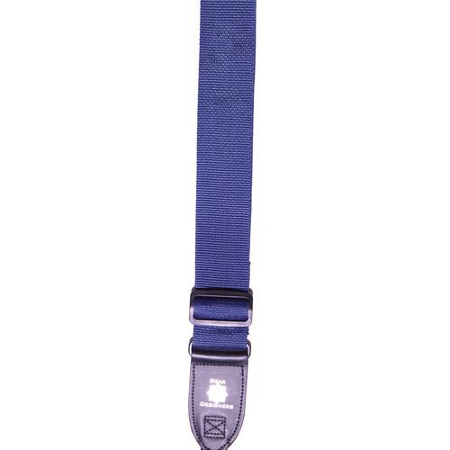 XP PhotoGear Izzuz Nylon & Leather Designer Strap (Navy Blue)