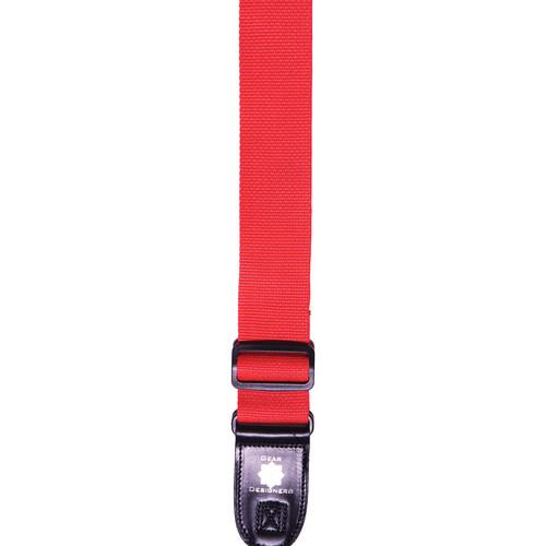 XP PhotoGear Izzuz Nylon & Leather Designer Strap (Red)