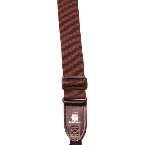 XP PhotoGear Izzuz Nylon & Leather Designer Strap (Brown)