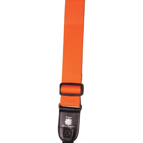 XP PhotoGear Izzuz Nylon & Leather Designer Strap (Orange)