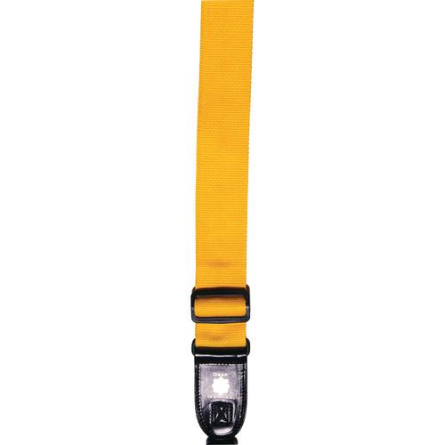 XP PhotoGear Izzuz Nylon & Leather Designer Strap (Gold)
