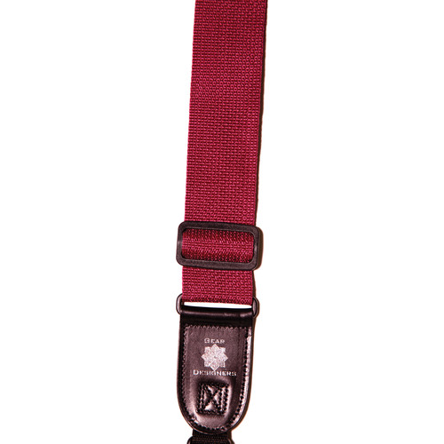 XP PhotoGear Izzuz Nylon & Leather Designer Strap (Wine)