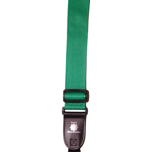 XP PhotoGear Izzuz Nylon & Leather Designer Strap (Green)