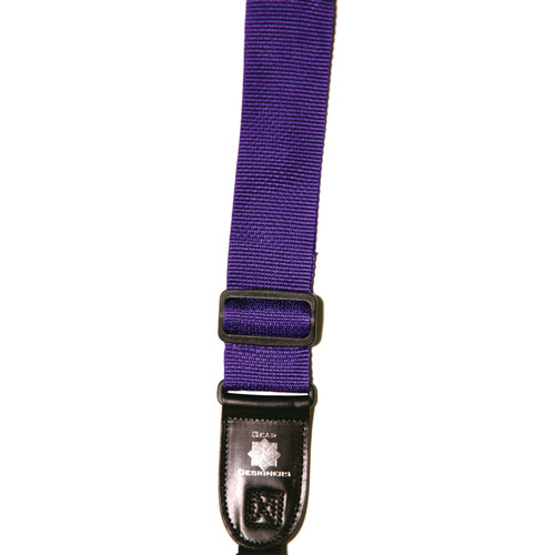 XP PhotoGear Izzuz Nylon & Leather Designer Strap (Purple)