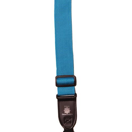 XP PhotoGear Izzuz Nylon & Leather Designer Strap (Turquoise)