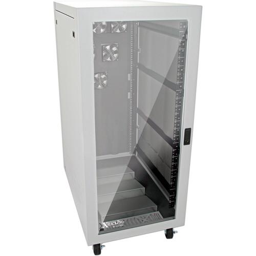 XRackPro XRackPro2 Noise Reduction Server Rack Enclosure (25 RU, Platinum)