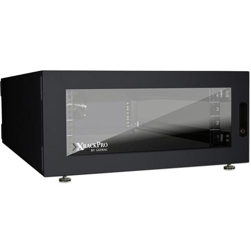 XRackPro XRackPro2 Noise Reduction Server Rack Enclosure (4 RU, Black)