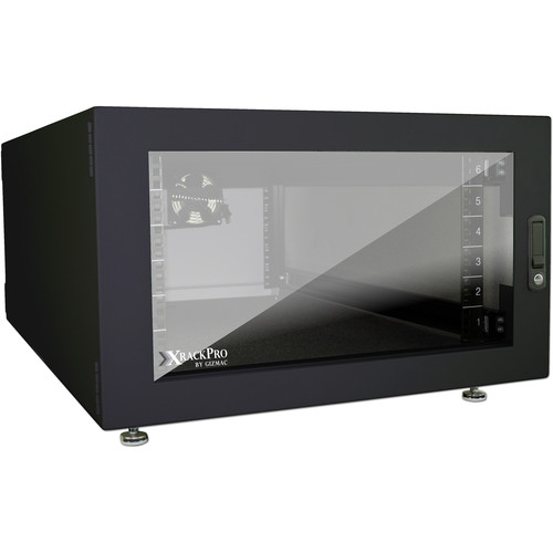 XRackPro2 Noise Reduction Server Rack Enclosure (6 RU, Black)