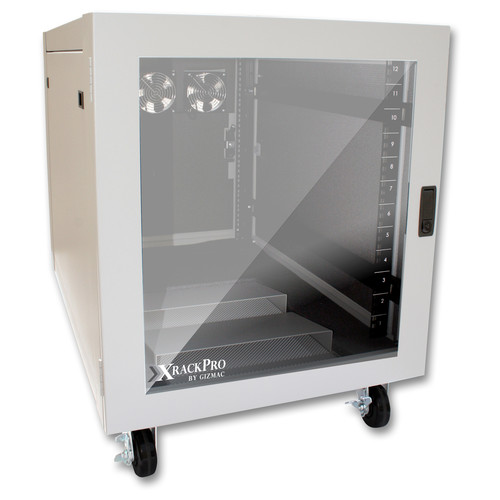 XRackPro XRackPro2 Noise-Reduction Server Rack-Enclosure (12 RU, Platinum)