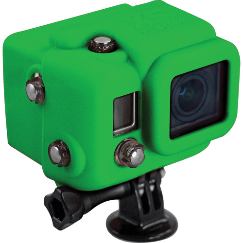 XSORIES Hooded Silicon Skin for GoPro Dive Housing (Green)