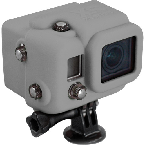 XSORIES Hooded Silicon Skin for GoPro Dive Housing (Cool Grey)
