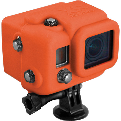 XSORIES Hooded Silicon Skin for GoPro Dive Housing (Orange)