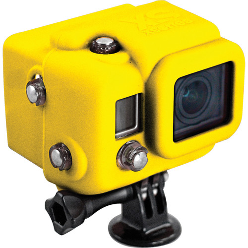 XSORIES Hooded Silicon Skin for GoPro Dive Housing (Yellow)