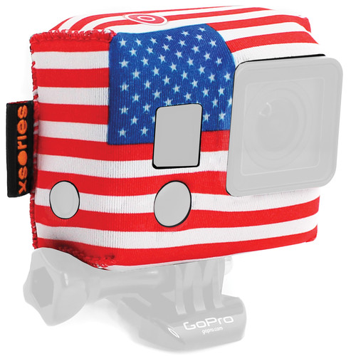 XSORIES TuXSedo Camera Jacket for GoPro HERO3/3+/4 (Americana)
