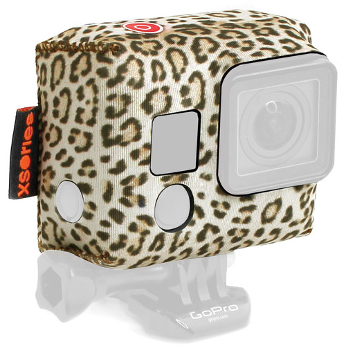 XSORIES TuXSedo Camera Jacket for GoPro HERO3/3+/4 (Leopard)
