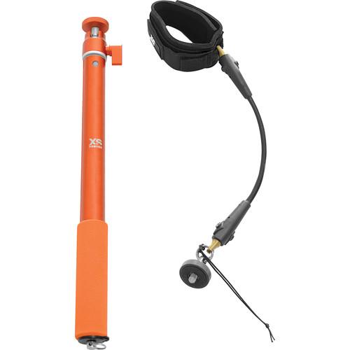 XSORIES Big U-Shot and Wrist Cord Cam (Orange)