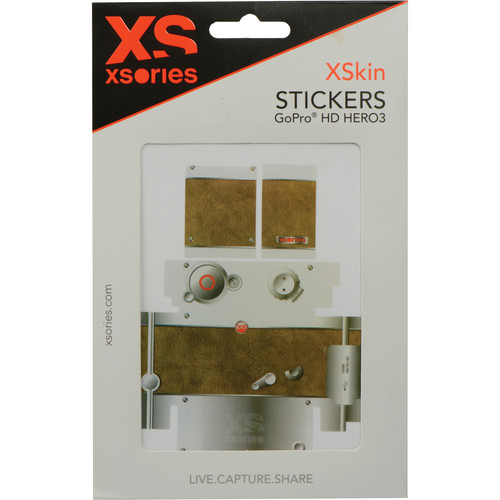 XSORIES XSkins Sticker Set for GoPro HERO3 (Old Style 1)