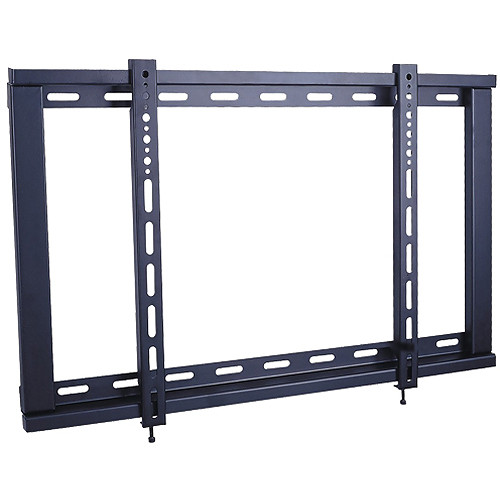 Xtreme Cables 18003 Ultra-Slim TV Fixed Wall Mount (8 Unit Case, Black)