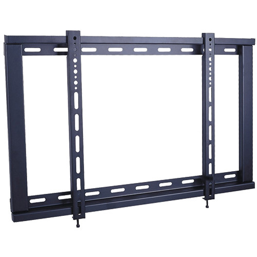 Xtreme Cables 18004 Ultra-Slim TV Fixed Wall Mount (6 Unit Case, Black)