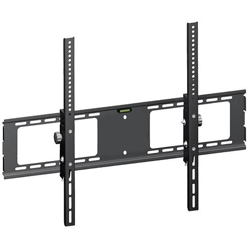 Xtreme Cables 18013 Flat Adjustable Wall Bracket with Tilt & Level (6 Units, Black)