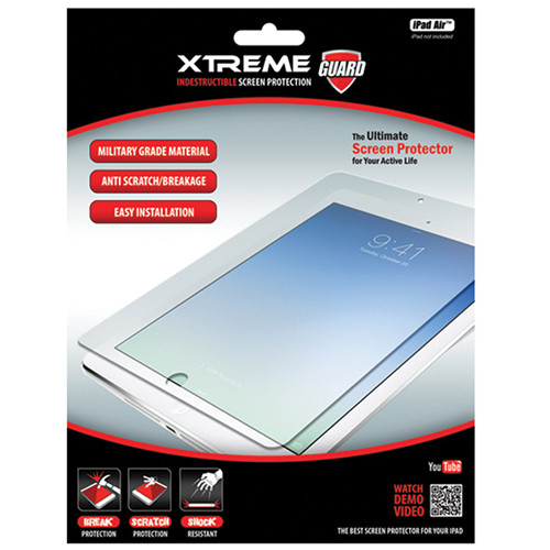 Xtreme Cables Indestructible Screen Protector for iPad Air