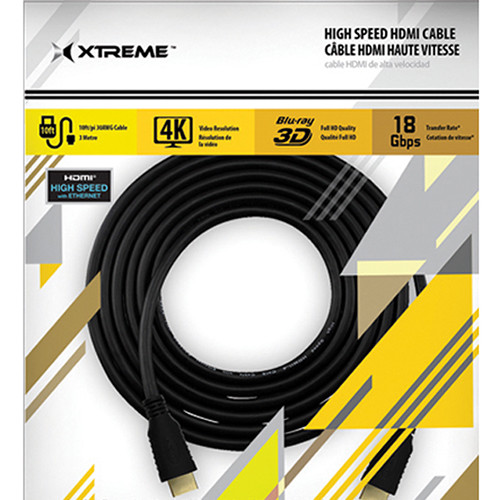 Xtreme Cables High-Speed HDMI Cable with Ethernet (25')