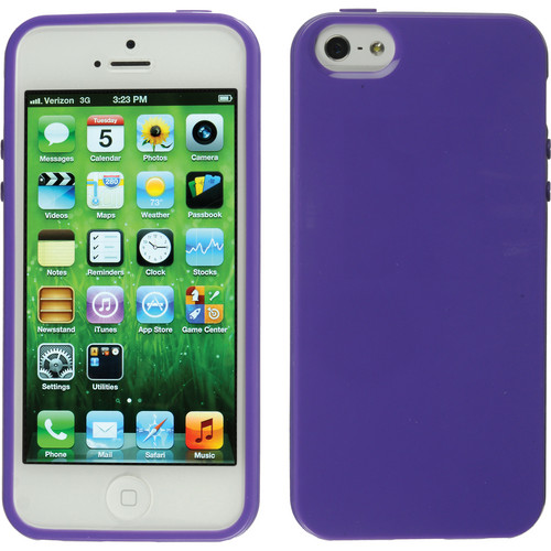 Xuma Flex Case for iPhone 5, 5s & SE (Purple)