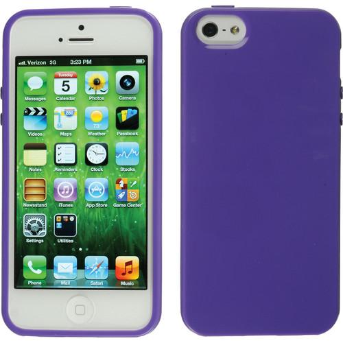 Xuma Flex Case for iPhone 5, 5s & SE (Purple)