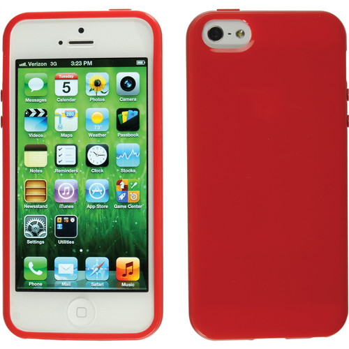 Xuma Flex Case for iPhone 5, 5s & SE (Red)