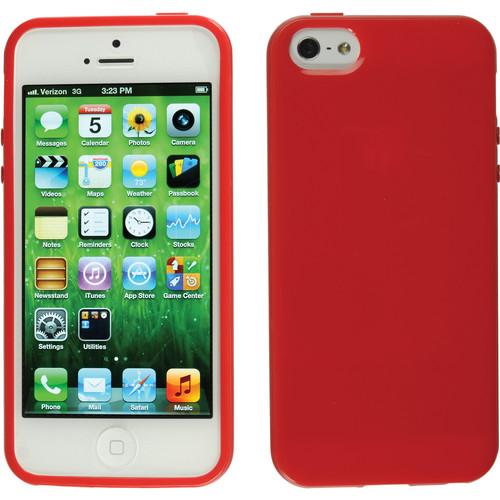 Xuma Flex Case for iPhone 5, 5s & SE (Red)