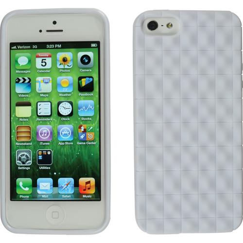 Xuma Textured Flex Case for iPhone 5, 5s & SE (White)