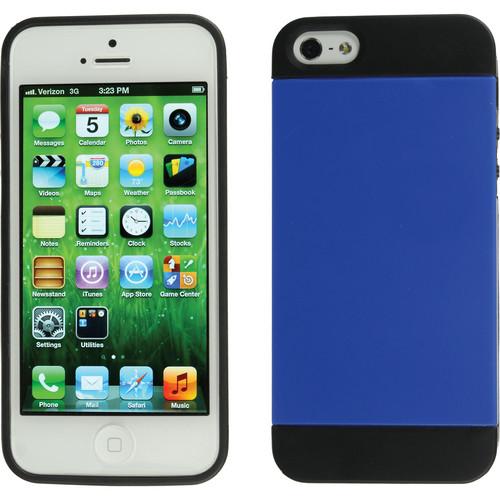 Xuma Hybrid Case for iPhone 5, 5s & SE (Blue)