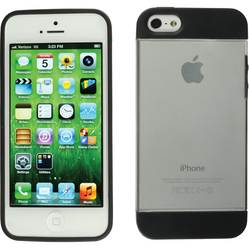 Xuma Hybrid Case for iPhone 5, 5s & SE (Clear)