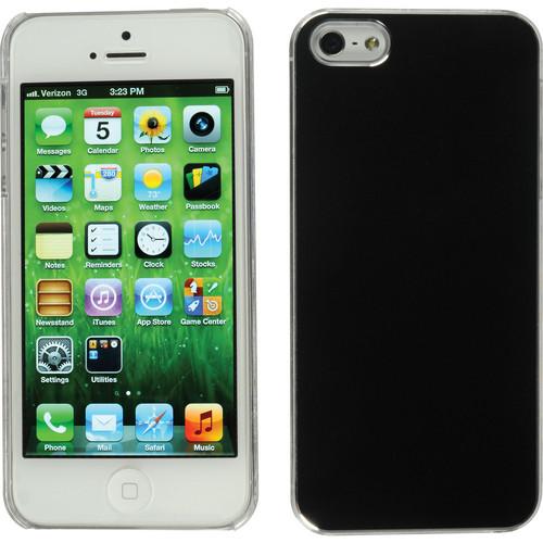 Xuma Aluminum Snap-on Case for iPhone 5, 5s & SE (Black)