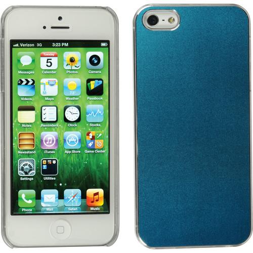 Xuma Aluminum Snap-on Case for iPhone 5, 5s & SE (Blue)