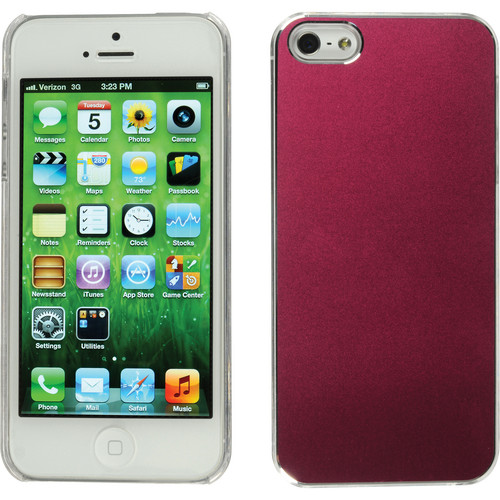 Xuma Aluminum Snap-on Case for iPhone 5, 5s & SE (Pink)