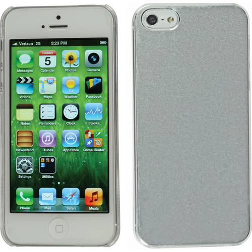 Xuma Aluminum Snap-on Case for iPhone 5, 5s & SE (Silver)