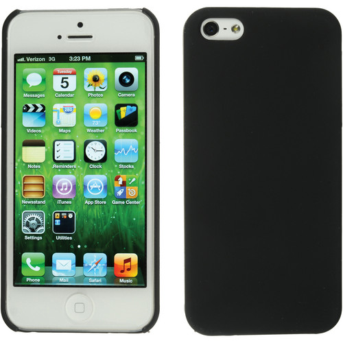 Xuma Snap-on Case for iPhone 5, 5s & SE (Black)