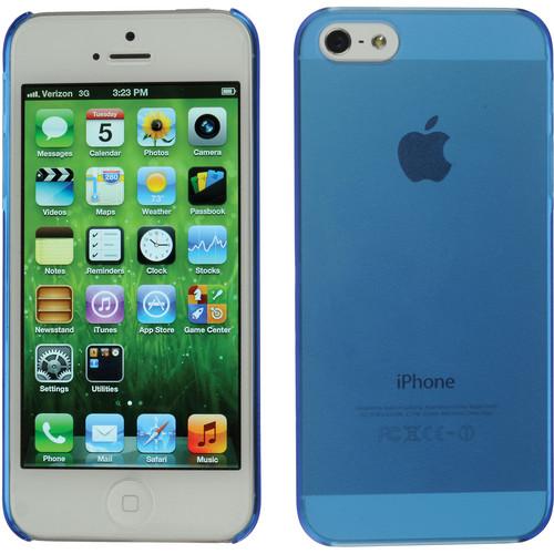 Xuma Ultraslim Snap-on Case for iPhone 5, 5s & SE (Blue)