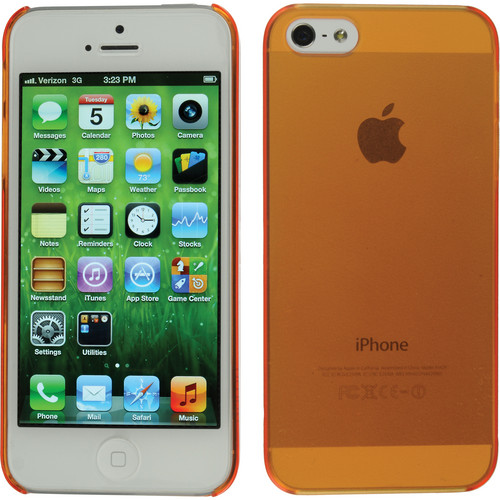Xuma Ultraslim Snap-on Case for iPhone 5, 5s & SE (Orange)