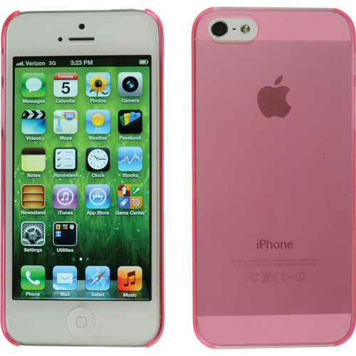 Xuma Ultraslim Snap-on Case for iPhone 5, 5s & SE (Pink)
