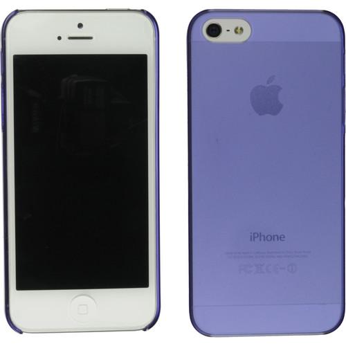 Xuma Ultraslim Snap-on Case for iPhone 5, 5s & SE (Purple)