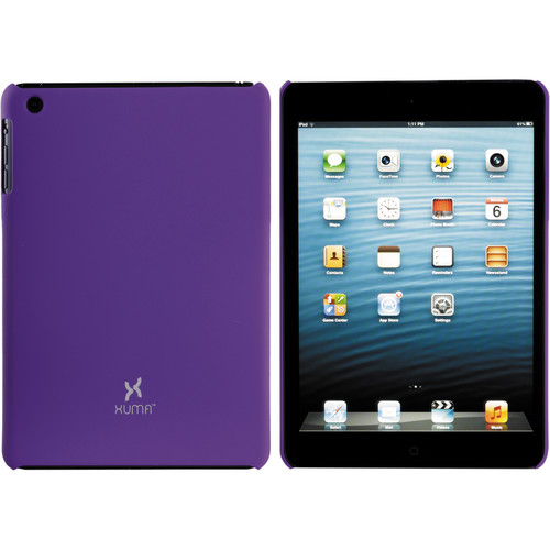 Xuma Hard Snap-on Case for iPad mini 1st Generation (Purple)