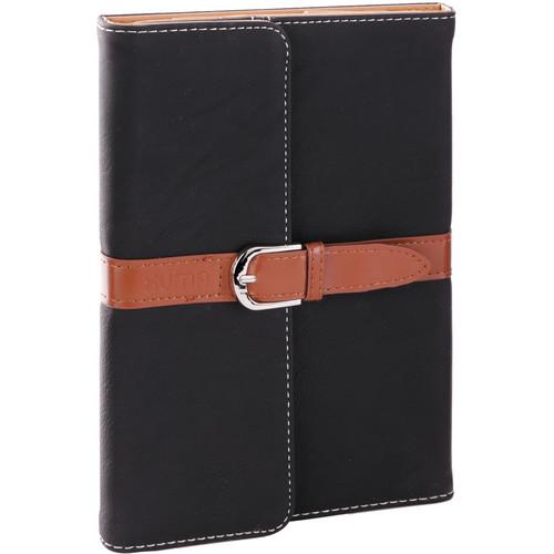 Xuma Designer Folio Clutch Case for iPad mini (All Generations) - (Black)