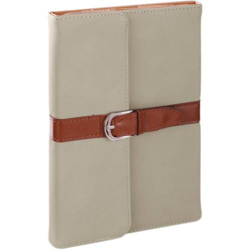 Xuma Designer Folio Clutch Case for iPad mini (All Generations) - (Gray)