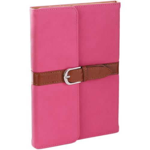 Xuma Designer Folio Clutch Case for iPad mini (All Generations) - (Pink)