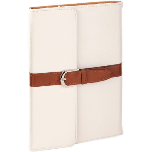 Xuma Designer Folio Clutch Case for iPad mini (All Generations) - (White)