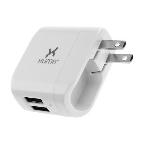 Xuma 3.1 Amp Dual Port USB Wall Charger