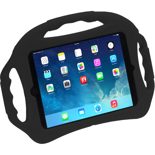 Xuma Silicone Multi-Grip Kids' Case for iPad Mini (Black)