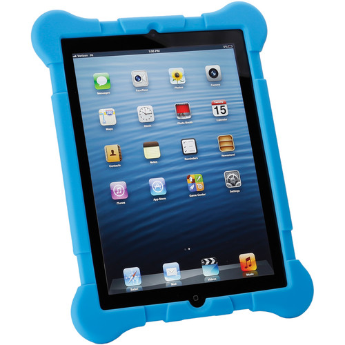 Xuma Rugged Case for iPad 2nd, 3rd, 4th Gen (Blue)